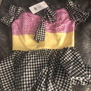 Caroline Costas NWT blouse! Size XS retails $396